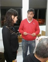 Romero prestó juramento en el HCD de Cerrito