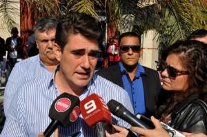 Administrador de Vialidad Nacional, Javier Iguacel, en Parana.