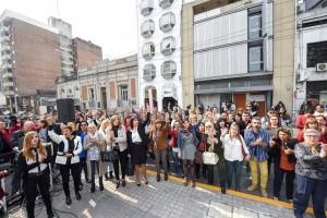 Acto en Plaza Mansilla