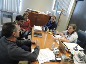 Audiencia en Vialidad Provincial.