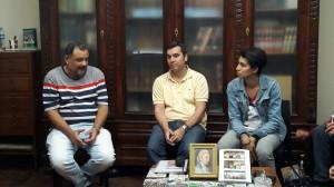 Marcelo Haddad y Daniela Vera se reunieron con Muntes.