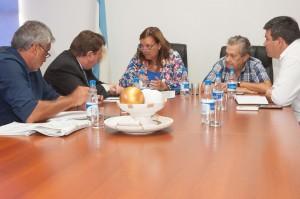 Benítez, se reunió con el senador provincial Raymundo Kisser.