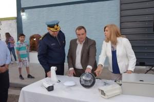 Se inauguró un destacamento de Bomberos Zapadores en San Benito.