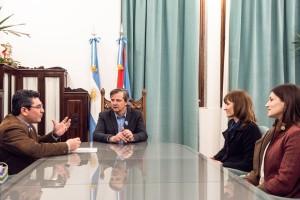 Reunión en la Vicegobernación.