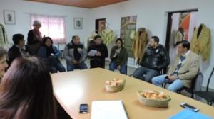 Equipo del Ministerio de Desarrollo Social de Nacion visitó Cerrito.