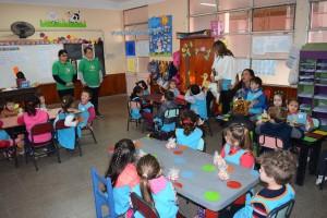Para los  Niveles Iniciales de 3 a 5 años de la Escuela 61 Facundo Zuviría.