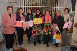 Tejedoras de Cerrito confeccionaron más de 700 prendas.