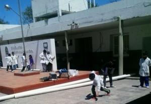 Repararán una escuela de Hernandarias